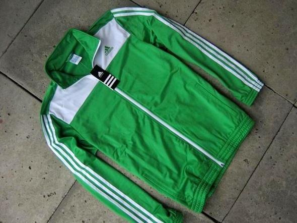 ADIDAS NOWA zielona bluza ML...