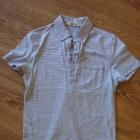 Koszulka polo w paski rozmiar S