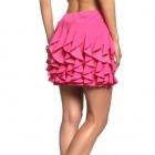 spódniczka falbanki Hot PINK różowa mini 36 S