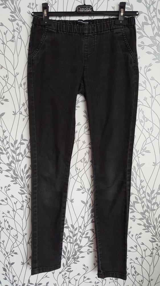 Spodnie jegginsy szare S