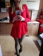 Sweterek czerwony M...
