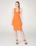 Mohito Pomarańczowa Sukienka z wycięciami S 36