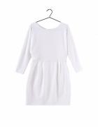 Sukienka śmietankowa Gina Tricot rozmiar M