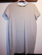 Sukienka szara na L Mohito...
