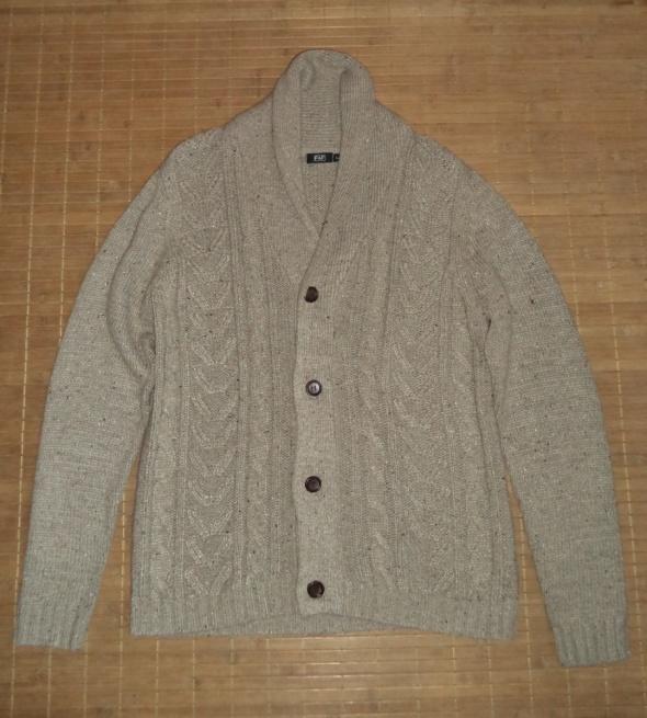 Sweter kardigan zapinany