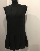 Śliczna czarna sukienka Xs na S...