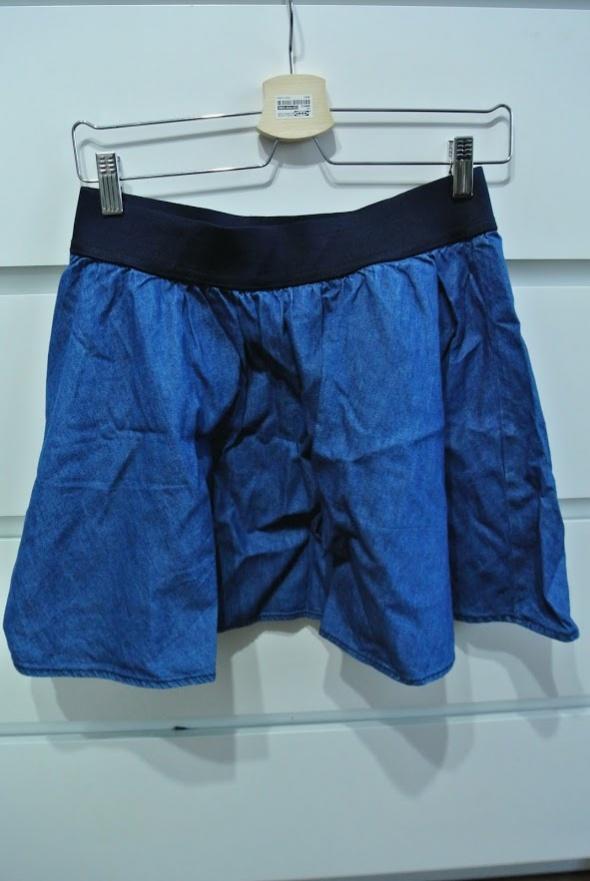 Spódnice Jeansowa spódnica h&m