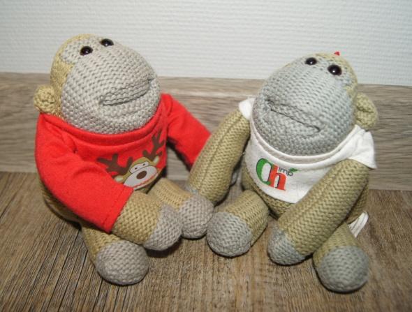 Maskotki przytulanki Małpki...