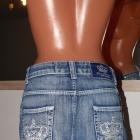 Victoria Beckham fajna spódniczka jeansowa M
