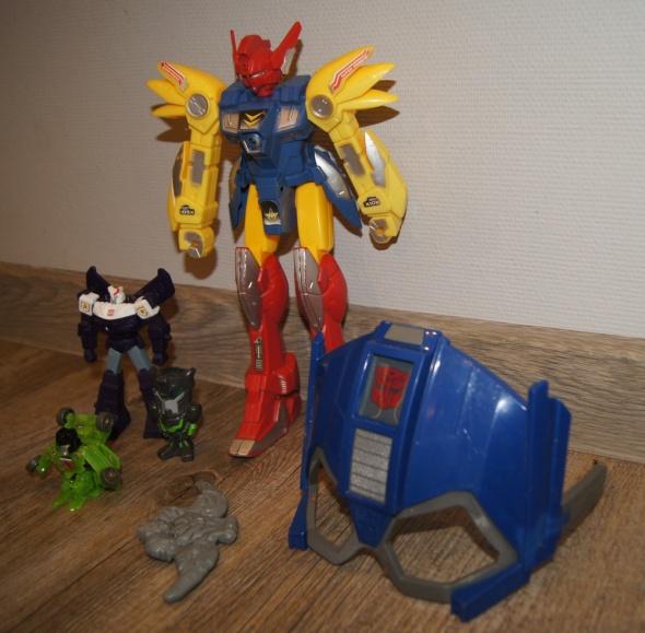 Zestaw figurki kolekcja Transformers...