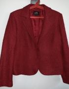 czerwony żakiet Marks Spencer 16 44