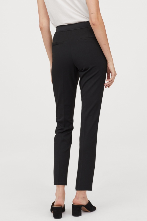 Spodnie Spodnie cygaretki eleganckie H&M S