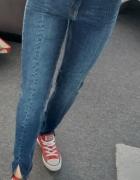 Spodnie jeans H&M S...