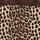 Animal Print Zara bluzka w panterkę z koronkowym tyłem 34 XS