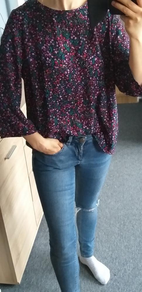 Bluzki Bluzka w kwiaty Cubus M