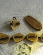 Pierścionek bransoletka wisiorek z rogu