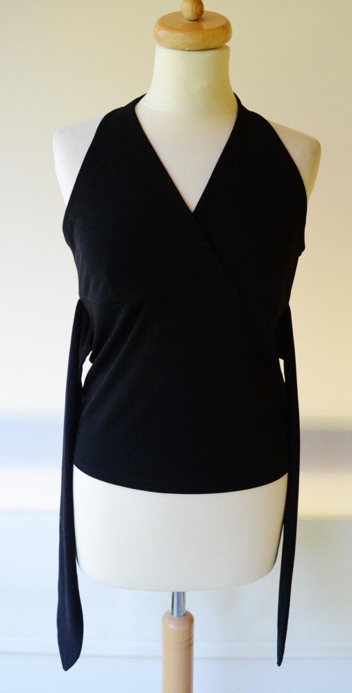 Bluza Czarna Odkryte Ramiona L 40 INC Sexy