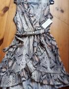sukienka modny wzór