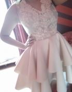 Sukienka koronka...
