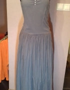 Piękna sukienka maxi na ramiączkach R 38 40...