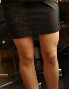 Czarna spódnica S