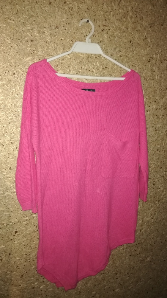 Mohito Różowy sweterek tunika 38