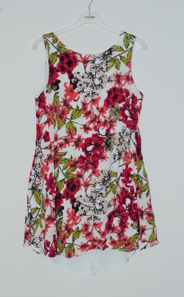 sukienka w kwiaty vero moda 38 m...