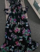 Długa sukienka Apricot S M...