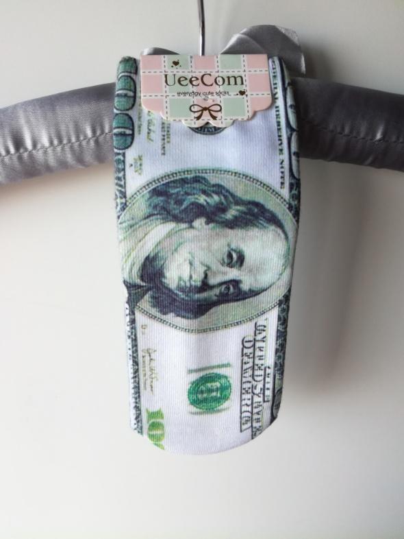 Nowe skarpetki dolar amerykański