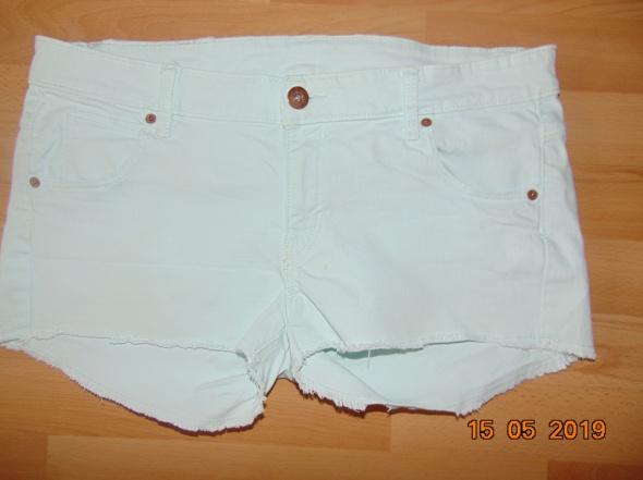 Spodenki jeans krótkie jasne spodenki