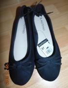 balerinki czarne...