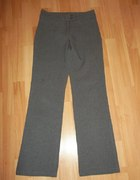 Szare spodnie materiałowe...