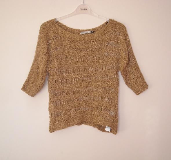 Swetry ażurowy sweter stradivarius m