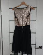 Sukienka M z cekinami...