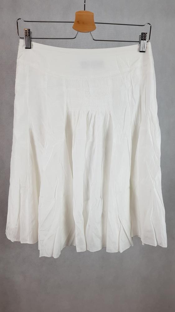 Biała letnia spódniczka gumka zwiewna...