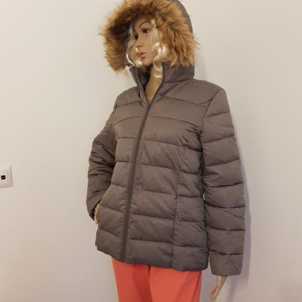 Nowa szara kurtka jesień zima...