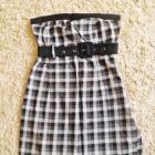 sukienka mini kratka cropp XS 34