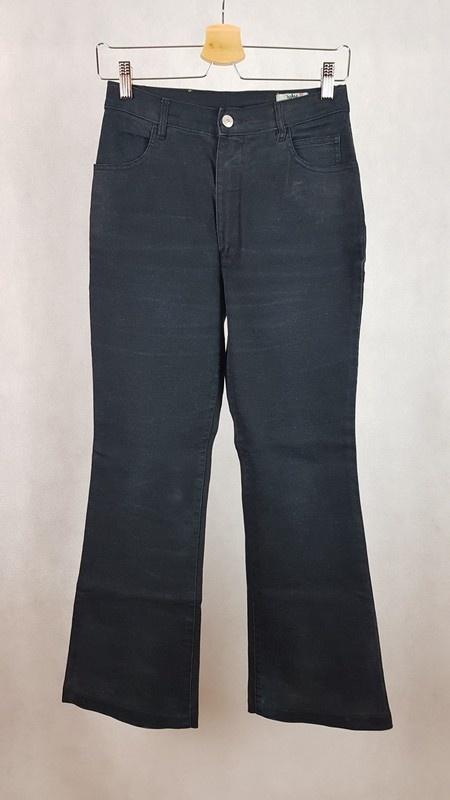 Szerokie jeansy dzwony M