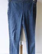 Tregginsy Dzinsowe Spodnie H&M Jeansowe Rurki S 36...