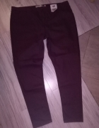 Nowe spodnie rurki śliwkowy kolor...