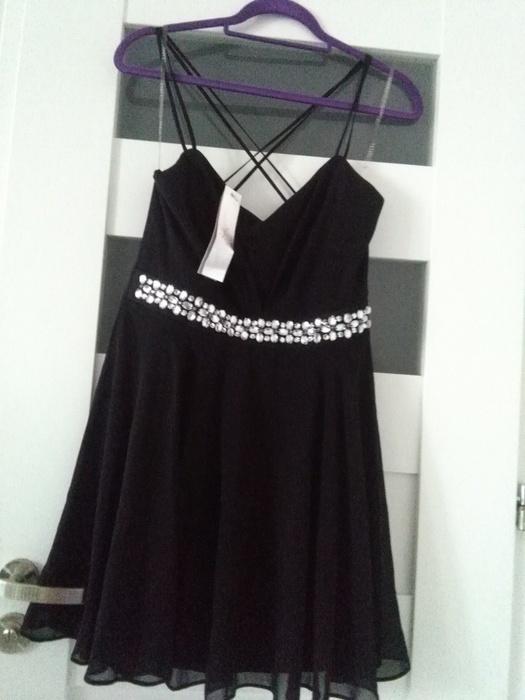 Suknie i sukienki Nowa sukienka mgiełka z ozdobami