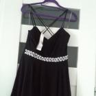 Nowa sukienka mgiełka z ozdobami