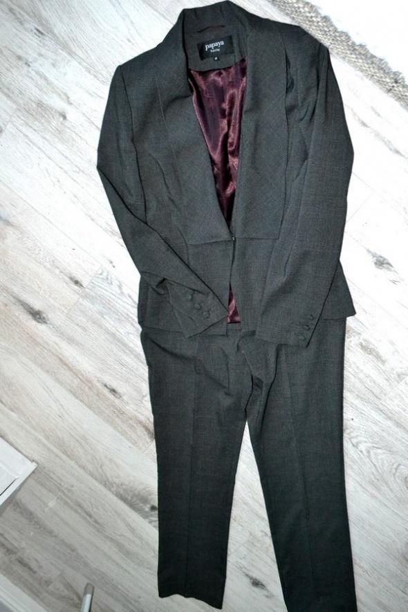 Garsonki i kostiumy Kostium damski biznesowy slimowany HIT 38