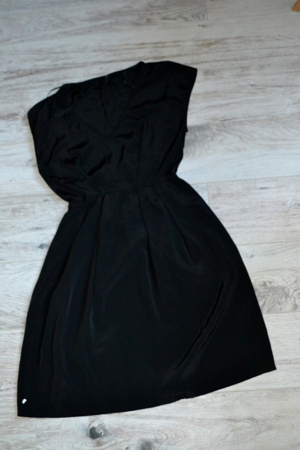 Suknie i sukienki Sukienka czarna H&M 36 34
