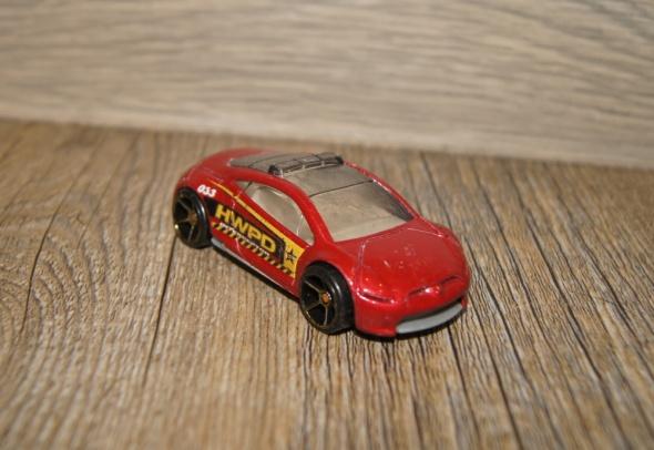 Autka samochody resoraki Hot Wheels zestaw czerwony złoty...
