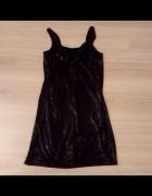 Komplet sukienka i narzutka czarna w rozmiarze M L...