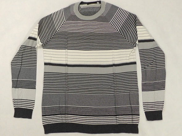 sweter meski w paski rozm L