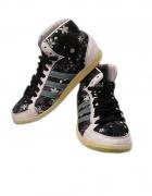 ADIDAS buty sportowe w kwiaty rozm 39 25 cm...