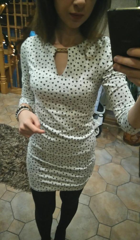 sukienka mini serduszka s