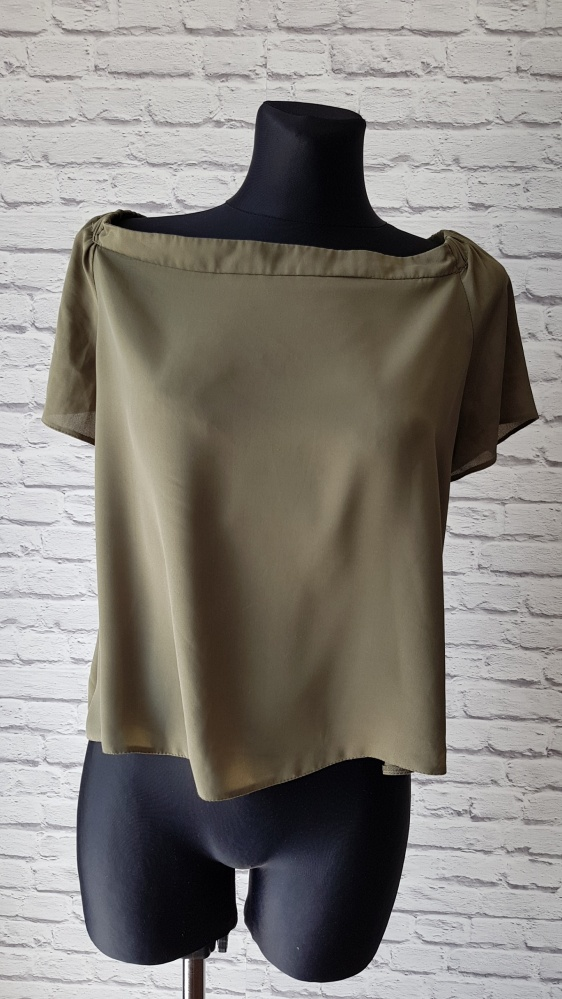 Bluzka khaki New Look 46